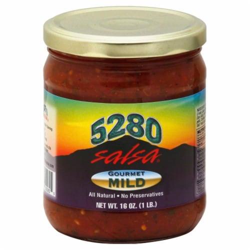 5280 Gourmet Mild Salsa Perspective: front