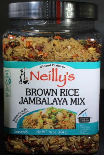 Neilly's Brown Rice Jambalaya Mix Perspective: front