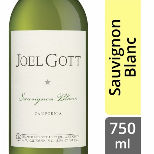 Joel Gott Sauvignon Blanc White Wine Perspective: front