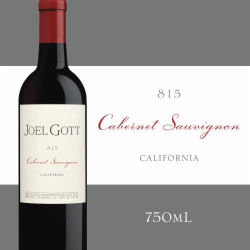 Joel Gott Cabernet Suavignon Red Wine Perspective: front