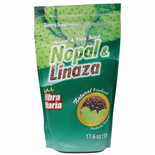 Mi Fibra Diaria Nopal & Linaza Dietary Supplement Perspective: front