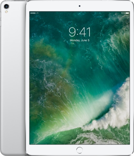 Apple iPad Pro 256 GB Tablet - Silver Perspective: front
