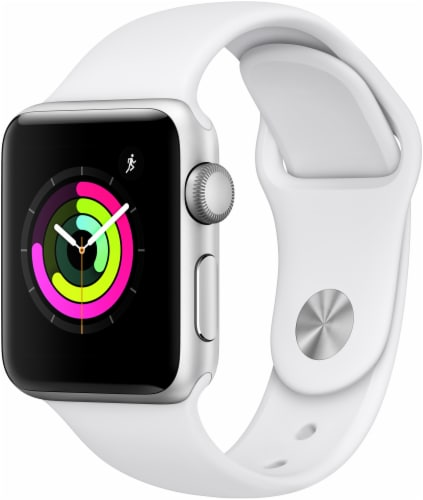 Apple Watch Series 3 - White Perspective: front