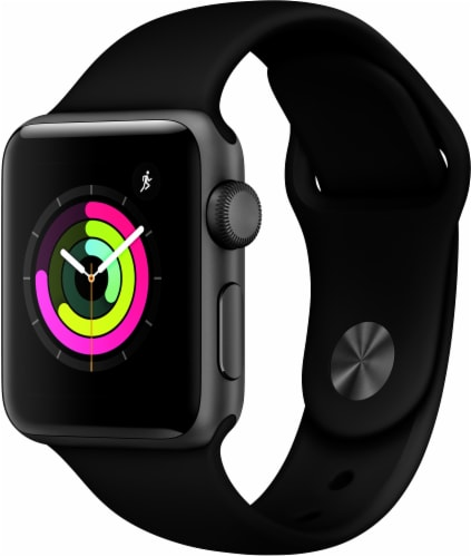 Apple Watch Series 3 - Black Perspective: front