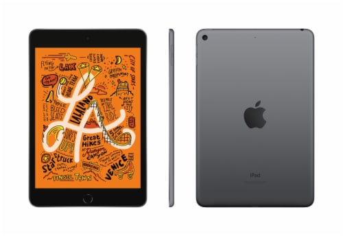 Apple iPad Mini 5 Tablet - Space Gray Perspective: front