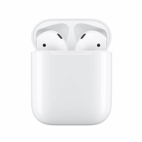 Apple Airpods with Charging Case Perspective: front