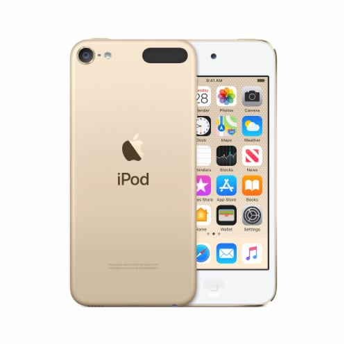 Apple 7th Generation iPod Touch - Gold Perspective: front
