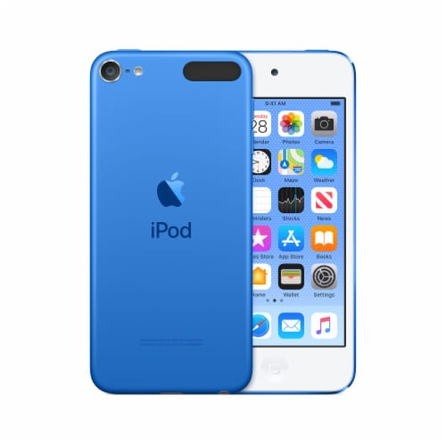 Apple 7th Generation iPod Touch - Blue Perspective: front