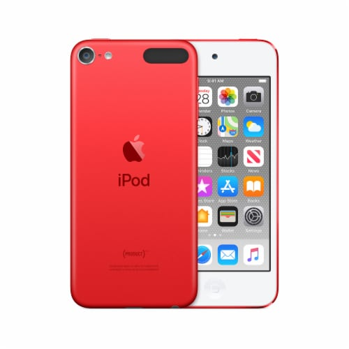 Apple 7th Generation iPod Touch - Red Perspective: front
