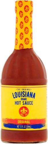 Louisiana Hot Sauce Perspective: front