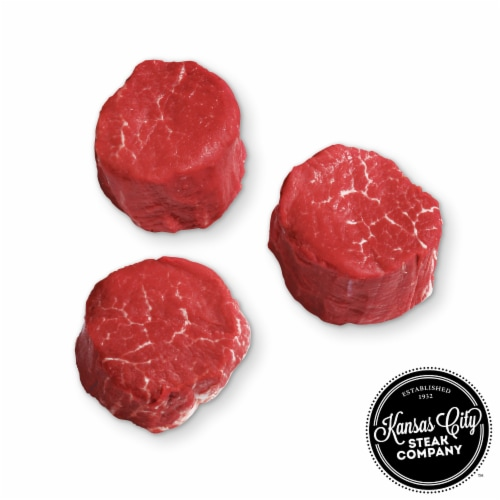 Kansas City Steak Beef Filet Mignon (Approximate Delivery is 3 - 8 Days) Perspective: front