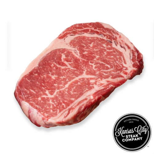 Kansas City Steak USDA Prime Ribeye Steaks 6 Count (Approximate Delivery is 3 - 8 Days) Perspective: front