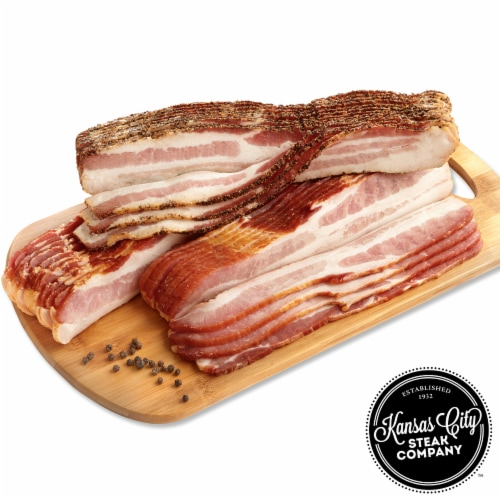 Kansas City Steak Bacon Flight (Approximate Delivery is 3 - 8 Days) Perspective: front