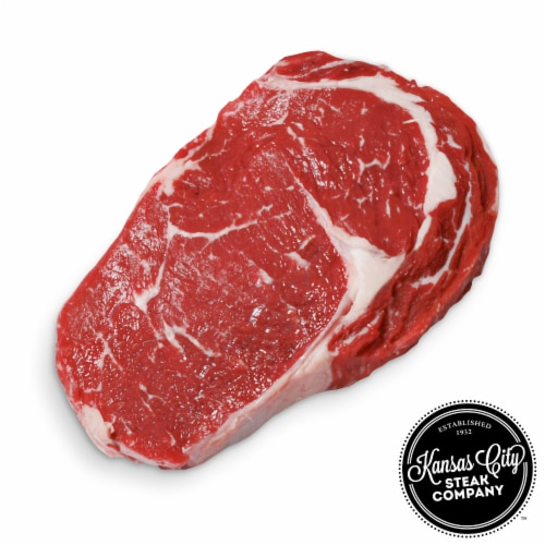 Kansas City Steak Ribeye Steaks (Approximate Delivery is 3 - 8 Days) Perspective: front