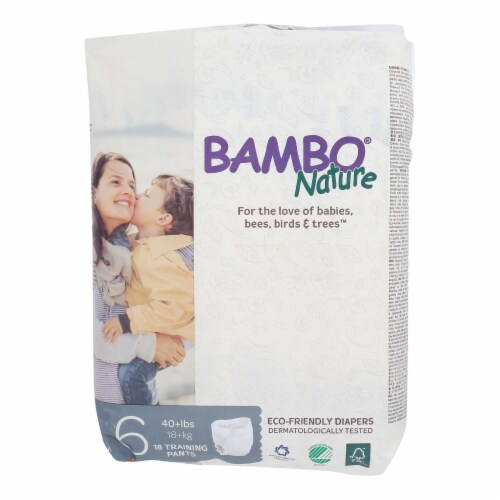 Bambo Nature Training Pants Stage 6 - 40+ lbs Perspective: front