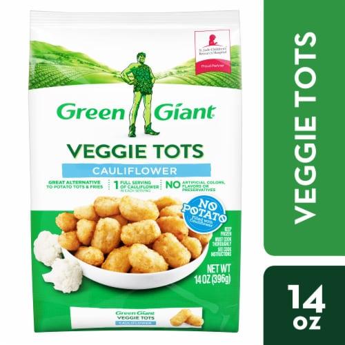 Green Giant Cauliflower Veggie Tots Perspective: front