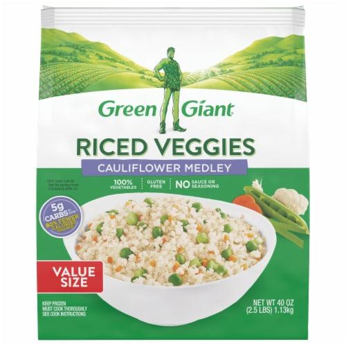Green Giant Cauliflower Rice Veggie Medley Perspective: front