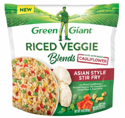 Green Giant Riced Veggie Asian Style Stir Fry Blend Perspective: front