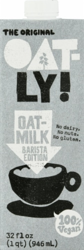 Oatly Barista Oat Milk Perspective: front