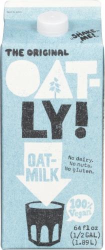Oatly Original Oatmilk Perspective: front