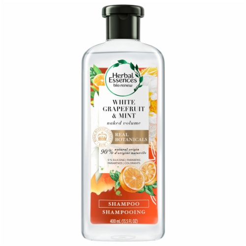 Herbal Essences Bio:Renew Naked Volume White Grapefruit & Mosa Mint Shampoo Perspective: front