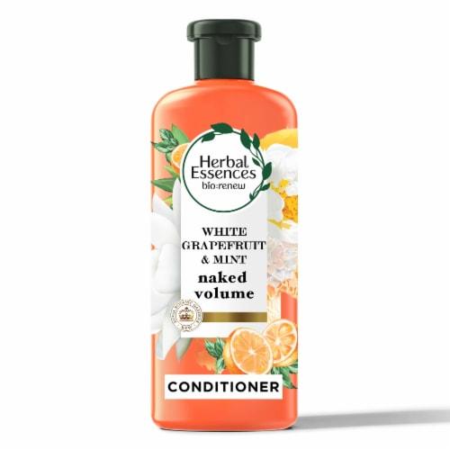 Herbal Essences bio:renew White Grapefruit & Mint Volumizing Conditioner Perspective: front
