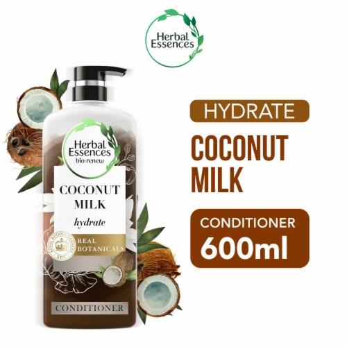 Herbal Essences Bio Renew Hydrate Coconut Milk Conditioner Perspective: front