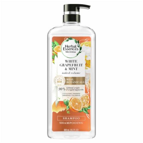 Herbal Essences Bio:Renew White Grapefruit & Mosa Mint Naked Volume Shampoo Perspective: front