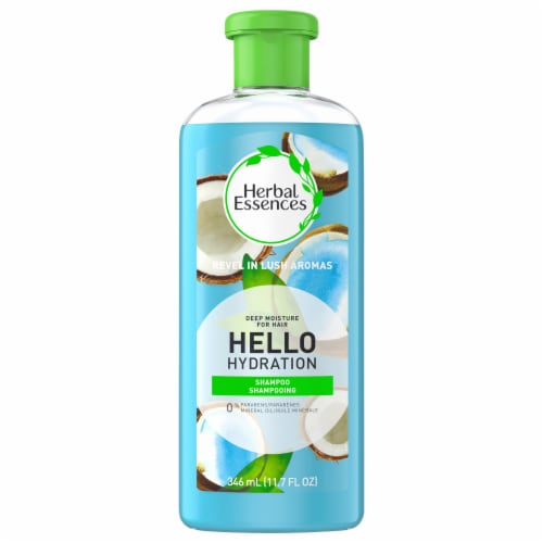 Herbal Essences Hello Hydration Shampoo and Body Wash Deep Moisture for Hair Perspective: front