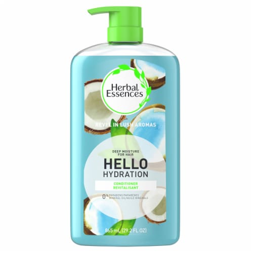 Herbal Essences Hello Hydration Conditioner Deep Moisture for Hair Perspective: front