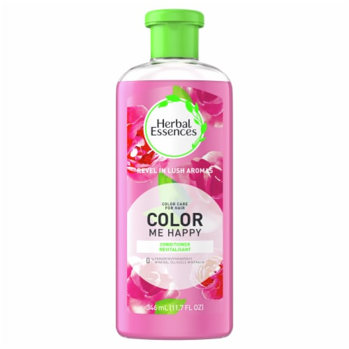 Herbal Essences Color Me Happy Conditioner for Color Treated Hair Perspective: front