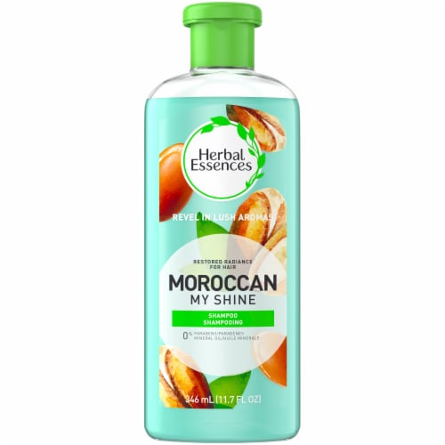Herbal Essences Moroccan My Shine Shampoo Perspective: front