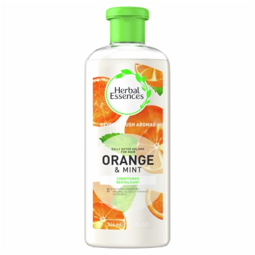 Herbal Essences Orange & Mint Daily Detox Volume Conditioner Perspective: front