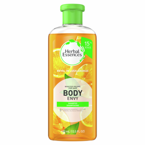 Herbal Essences Boosted Volume Body Envy Shampoo & Body Wash Perspective: front