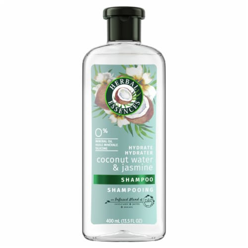 Herbal Essences Coconut Water & Jasmine Shampoo Perspective: front