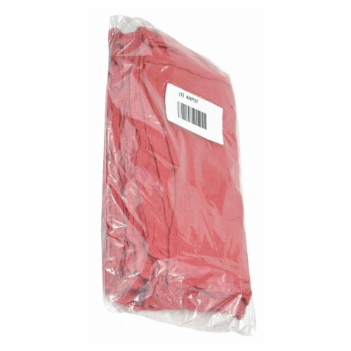 Sim Supply Red,Shop Towel,12  x 12 ,PK25  21820 Perspective: front