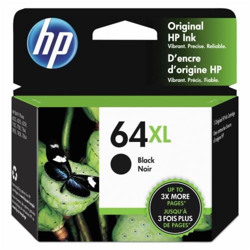 HP 64XL Original Ink Cartridge - Black Perspective: front