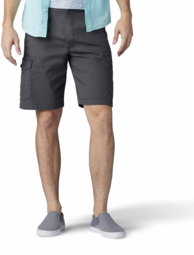 Lee Men's Extreme Motion Swope Cargo Shorts - Shadow Perspective: front