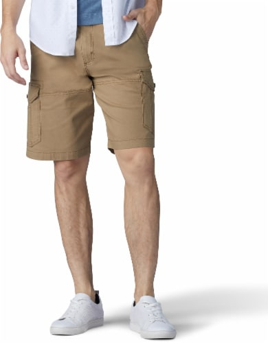 Lee Men's Extreme Motion Swope Cargo Shorts - Nomad Perspective: front