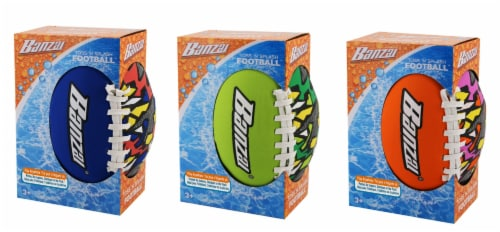 Banzai Toss 'n Splash Football - Assorted Perspective: front
