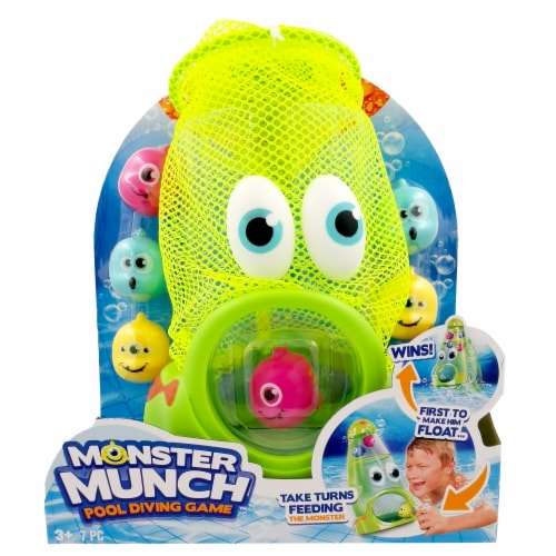 Banzai Monster Munch Pool Diving Game Perspective: front