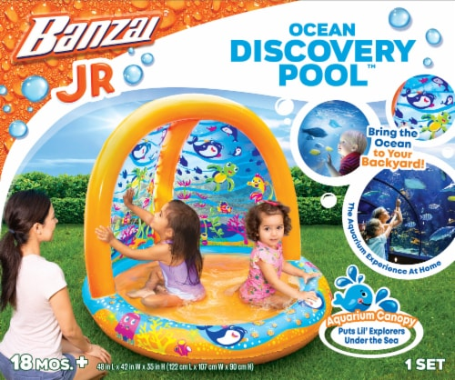 Banzai Ocean Discovery Pool Perspective: front