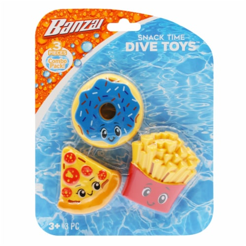 Banzai Snack Time Dive Toys Perspective: front