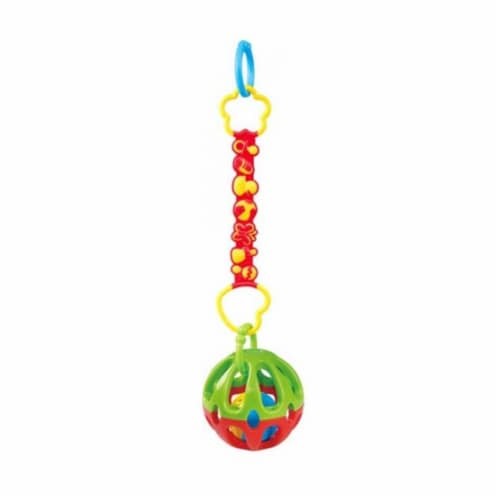 playgo 1512 Take Along Rattle Ball Perspective: front