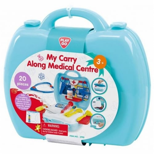 playgo 2792 My Carry Along Medical Centre - 20 Piece Perspective: front