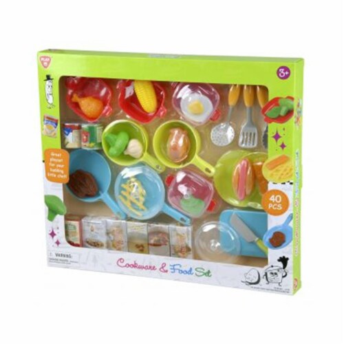 playgo 3740 Cookware & Food Set - 40 Piece Perspective: front