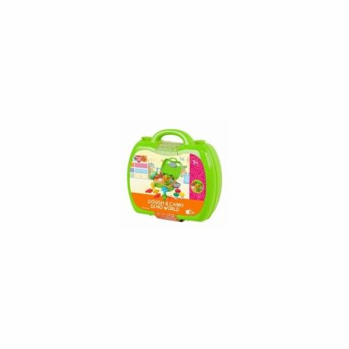 playgo 8835 3 x 1 Oz Dough & Carry, Dino World Perspective: front