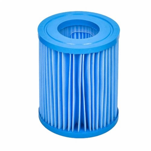Pool Central 32600577 5.5 in. Inorganic Antimicrobial Swimming Pool Replacement Filter Core C Perspective: front