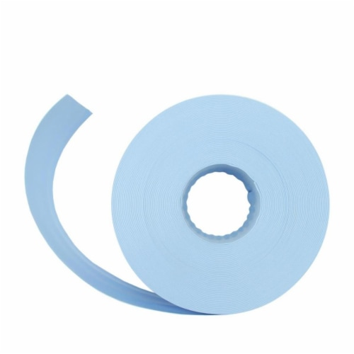 Pool Central 32798783 Light Blue Swimming Pool PVC Filter Backwash Hose - 50 ft. x 2 in. Perspective: front