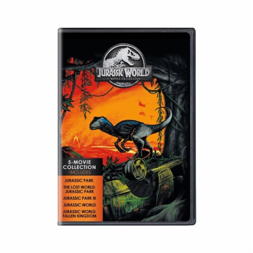 Jurrassic World - 5 Movie Collection (DVD) Perspective: front